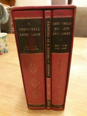 Winston Churchill Collection book set (Odhams)