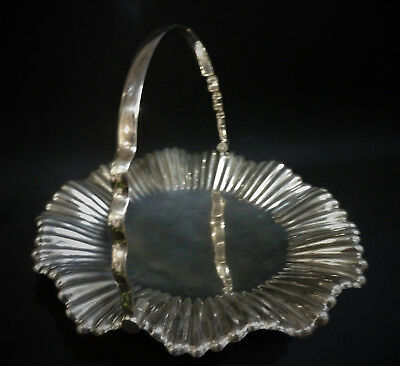 Mappin & Webb Vintage Silver Plate Cake / Pastry Stand with folding handle