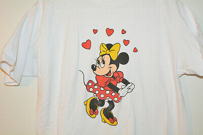 Minnie Mouse Vintage T-Shirt M Medium 1980s 80s Disney