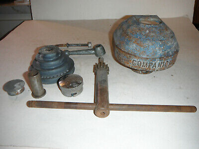 Vintage Companion Drill Press Pulley Cover And Misc Drill Press Parts!