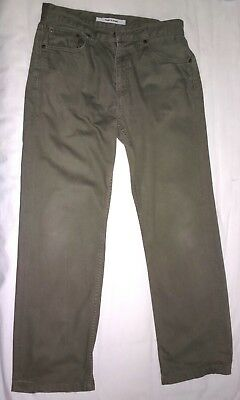 a387f6a750b4 Pantalon UNIQLO 100% Coton Taille 38 Homme   Cotton W30 Regular Fit  Straight Men