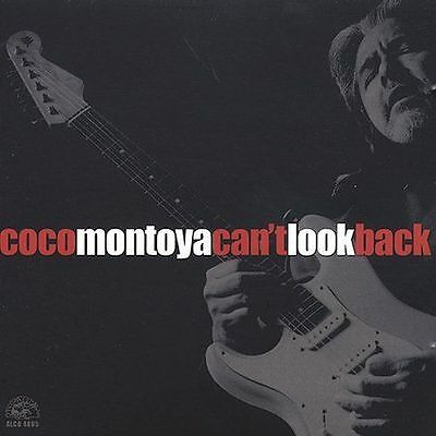 """Coco Montoya """"Can't  Look Back"""" Brand New Factory Sealed Blues CD. FREE shipping"""