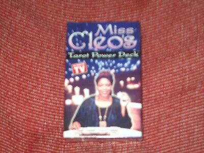 Miss Cleo's Tarot Power Deck 78 cards psychic metaphysical life future learn NIP