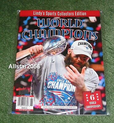 2018 Lindys Sports~New England Patriots~Super Bowl 53 Champs~Commemorative Issue