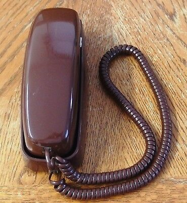Used Vintage Trimline ATT Phone Untested ~ For Parts ~ Very Clean ~ New 7/28/87