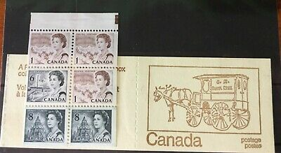 Canada Stamps 1971 Centennial Booklet UNI #BK69f