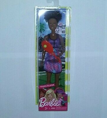 FREE SHIPPING NEW Barbie Careers Tennis Player Doll