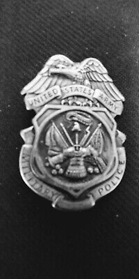 US Army Military Police MP Obsolete Full Size Badge