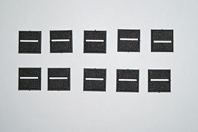 Square Bases - 20 x 20 mm - 10 pieces *NEW*