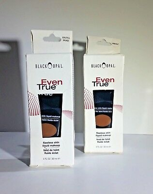 Black Opal Even True Flawless Skin Liquid Make Up Foundation - Choose Shade
