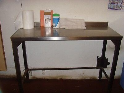 Used stainless steel bakery tables - various - £100 each