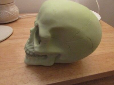 "LATEX MOULD MOLD OF A LARGE  SKULL APPROX 5.5"" X 4"" X 4.5"" tall"