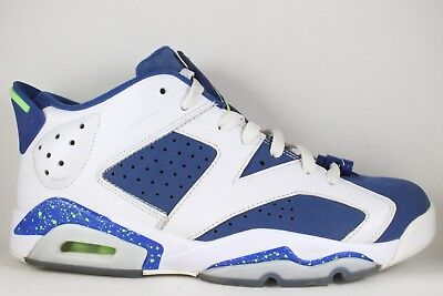 528015614247d1 NIKE AIR JORDAN 6 VI Low Ghost Green White Blue Seahawks size 10 ...