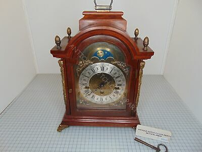 Warmink Walnut Westminster Chime Table Or Bracket Clock
