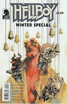 Hellboy Winter Special #1 - Cover C -Fabio Moon - Dark Horse Comics - 2018