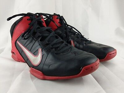 2343c9fc3048 NIKE AIR VISI Pro 4 Men s Size 8 Basketball Shoes Black Red 599556 ...