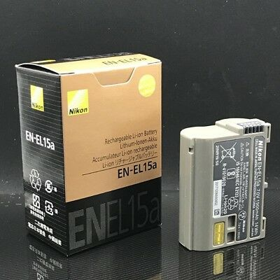 Genuine EN-EL15A Battery For Nikon D850 D7500 D750 D810 D7200 D7000 D7100 V1