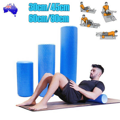 Foam Roller Yoga Grid Trigger Point Massage Pilates Physio Gym Home Exercise EVA