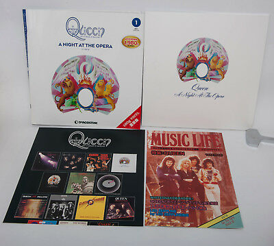 Queen A Night At The Opera 180g Vinyl LP Record Collection Deagostini from Japan