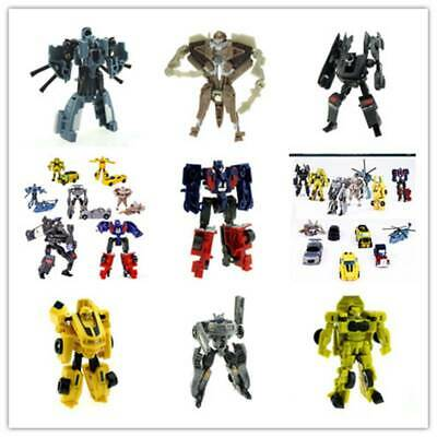 Transformers Bumblebee Optimus Prime Action Figure Robot Car Toy Gift For Kids