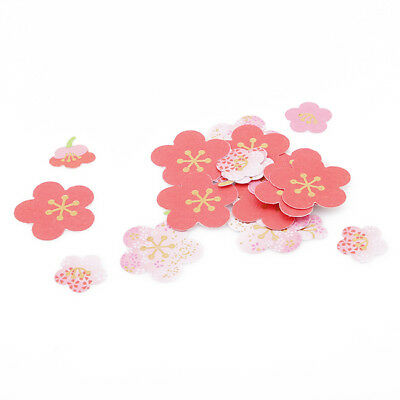 Chic Cherry Blossoms Flower Self-adhesive Photo Corner Stickers Scrapbook MN
