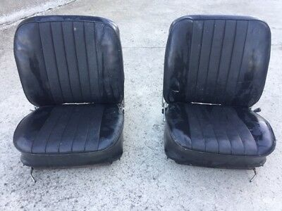 Seat right left early Porsche 911 complete rail