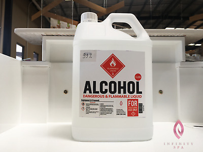 Artists Choice 99% Pure Isopropyl Alcohol Cleanser - 5L
