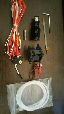 Full Kit Bowden Extruder + Hotend + nozzle 1,75mm 0,4mm  12V - Anet A8, Prusa