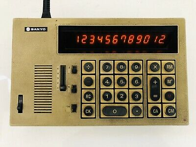 Sanyo ICC-1122 Vintage Calculator