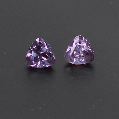 2.40 Ct Certified Natural Color Change In Sunlight Alexandrite Pair Loose Gems