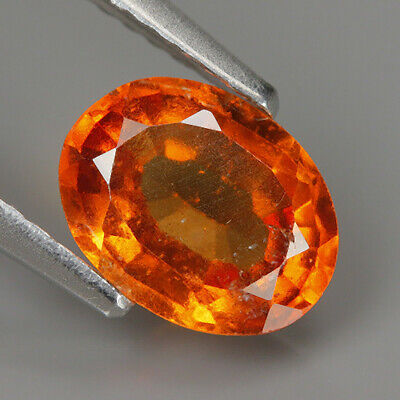 1,40! ct Hessonit CEYLON! Sri Lanka Granat ++ Farbe cognac very fine hessonite