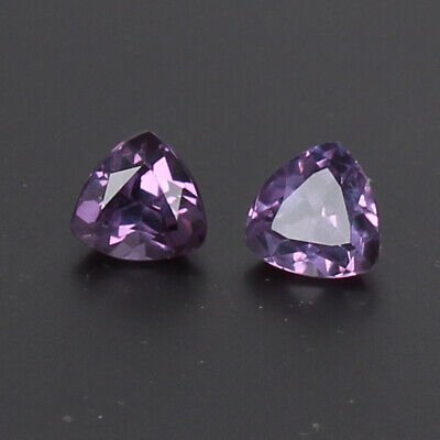 3.50 Ct Certified Natural Color Change In Sunlight Alexandrite Pair Loose Gems
