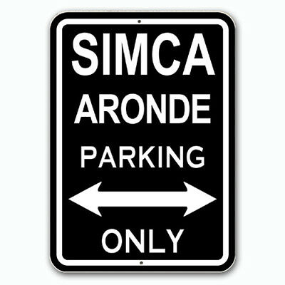 Simca ARONDE - Parking Only