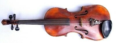 Antique German Jacobus Stainer Violin 4/4 with Lion Head