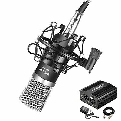 Neewer condenser microphone NW-700 phantom power kit 48V adapter XLR au... JAPAN