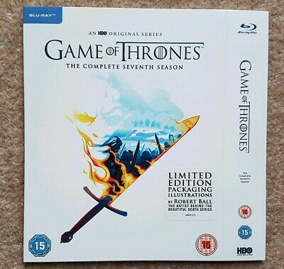 Game Of Thrones Season 7 Blu Ray Limited Edition Sleeve Only **no Dvd**
