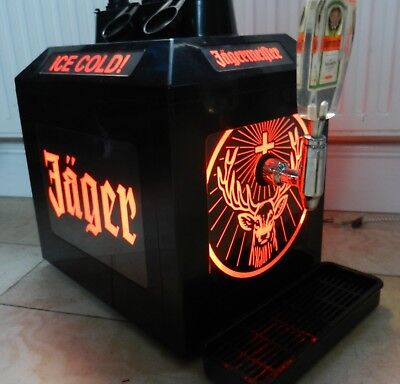 Jagermeister Cooler With Tap Extras Good Working Condition
