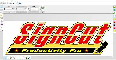 Signcut cutting software plus mega pack 3 in 1 deal  for cutters and plotters