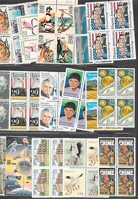 U S Stamps Discount Postage $55.00 Fv All 100 .55 Combos Net 37.50