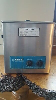 Crest Ultrasonics Powersonic Ultrasonic Cleaner Model 1100HT