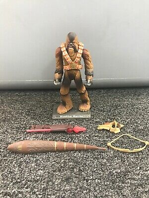 Star Wars Revenge of the Sith Wookiee Warrior Action Figure Complete 2004 Hasbro