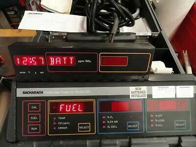 Bacharach Model 300 300NSX Combustion Analyzer