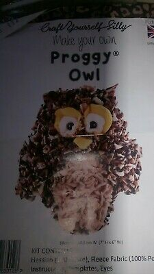 Craft Yourself Silly Proggy Owl Kit