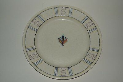 Crown Ducal ART DECO - Rare Snow Glaze Charger / Plate - Pattern 4617