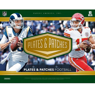 Aaron Donald 2018 PLATES & PATCHES FOOTBALL 24 BOX 2 FULL CASE PLAYER BREAK