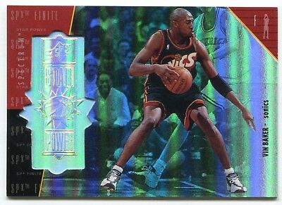 1998 SPx Finite Spectrum Vin Baker #ed 113/250 Rare