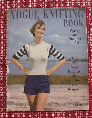 Vintage 1950s Vogue Knitting Book Over 50 Designs To Knit Hats