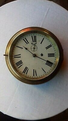 ANTIQUE. Ships clock