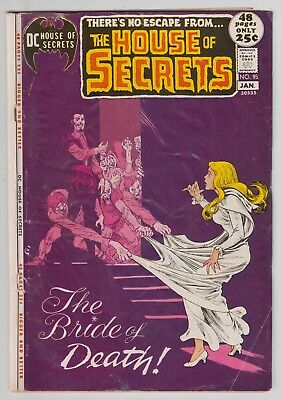 House of Secrets #95, NICK CARDY, NESTOR REDONDO, DON HECK, DC 1971, GD Minus  r