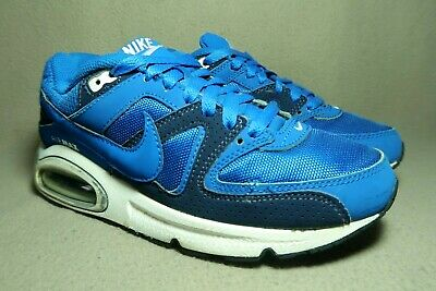 new style 212ae 93d00 NIKE AIR MAX COMMAND GS Royal Blue  Drk Blue White Casual Trainers UK 5